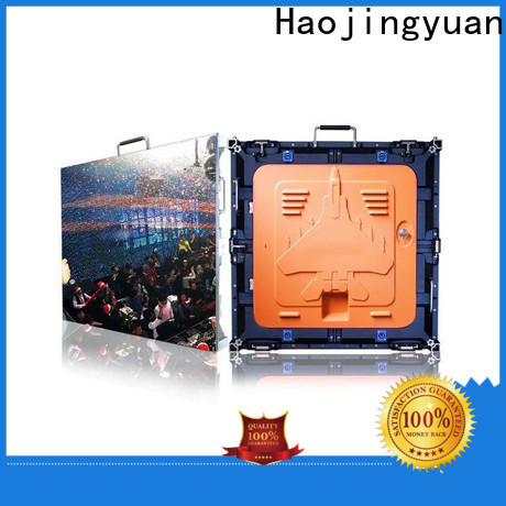 Haojingyuan indoor high resolution led monitors for business for building