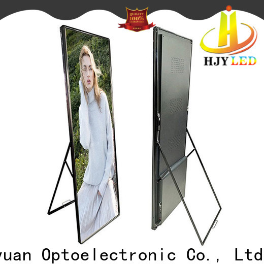 Haojingyuan advertising mobile led display for business for birthday party