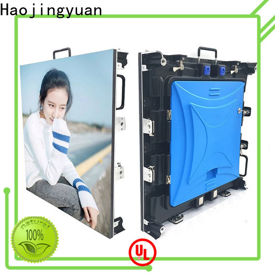 Haojingyuan Wholesale led screen big size for business for stadium