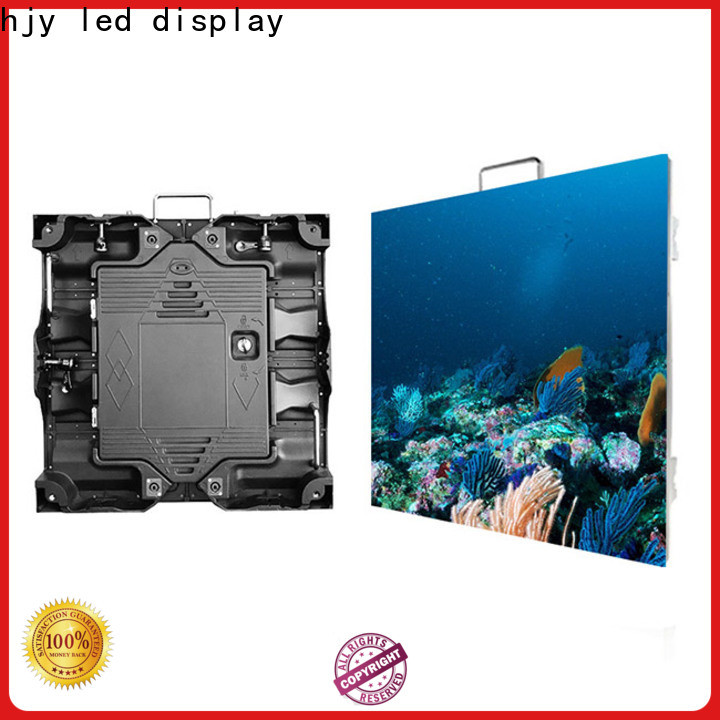 Haojingyuan Top flexible led display screen for business for taxi