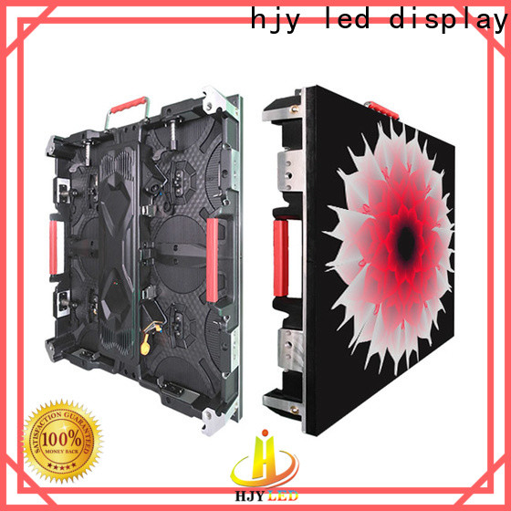 Haojingyuan New outdoor led video display Suppliers for taxi