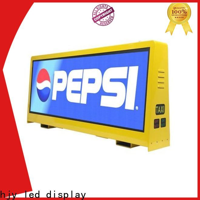 Haojingyuan Best taxi led display for business for wedding