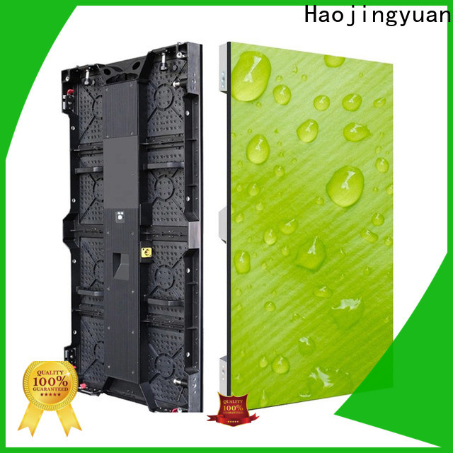 Haojingyuan indoor display panel led Suppliers for shopping mall