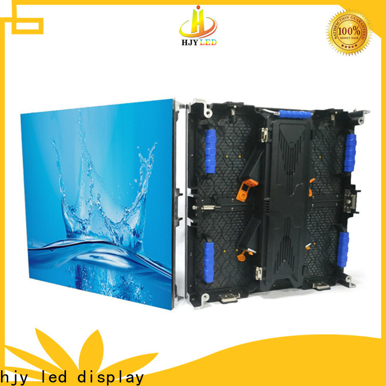 Haojingyuan New outdoor led video display Supply for concert