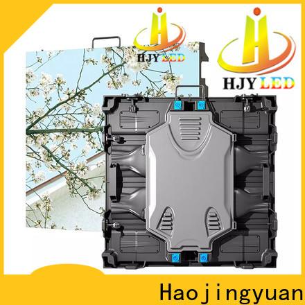 Haojingyuan Custom led display panel manufacturers for sea port