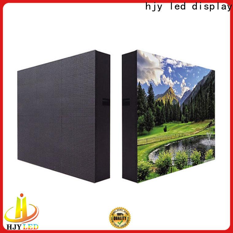 Haojingyuan Wholesale indoor fixed led screen company for lobby