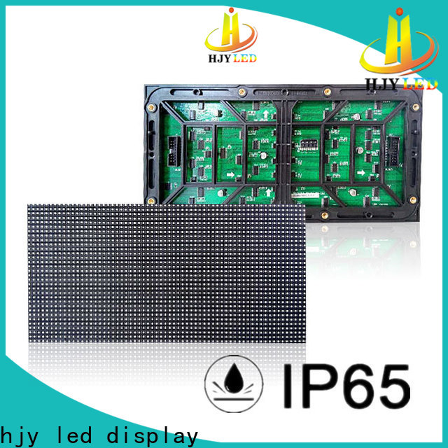Haojingyuan New led display module Supply for cafeteria