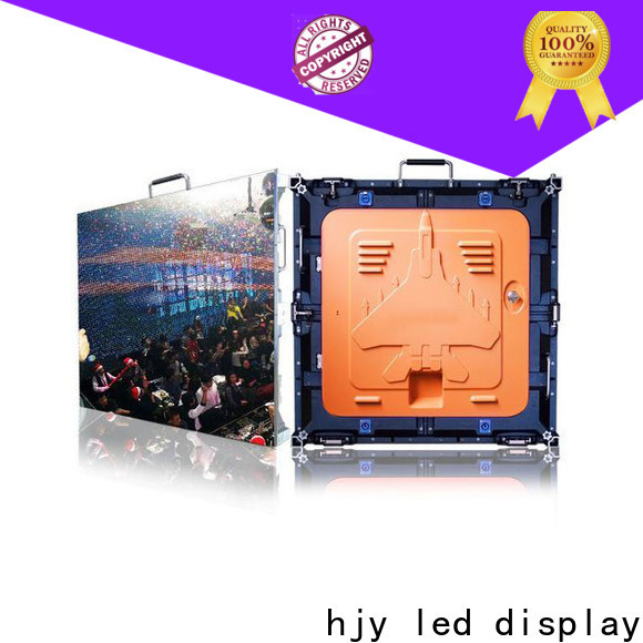 Haojingyuan New digital led display for business for building