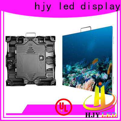Haojingyuan New large outdoor led display screens manufacturers for sea port