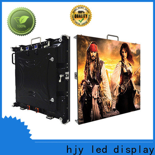 Haojingyuan Best flexible led display screen Supply for building