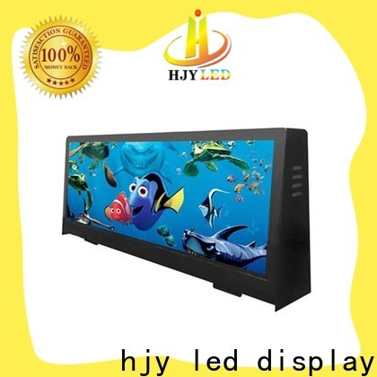 New taxi led display 4500nits Suppliers for shopping mall