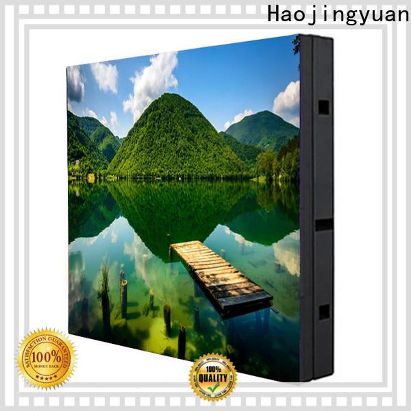 Haojingyuan Latest waterproof led display board Suppliers for school