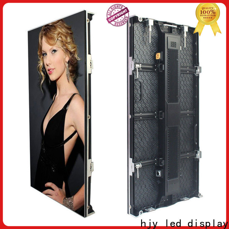 Haojingyuan video led panel screen indoor company for concert