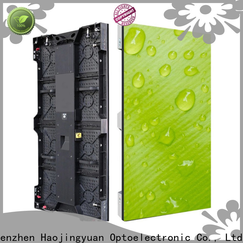 Haojingyuan wall stage led video wall Suppliers for concert