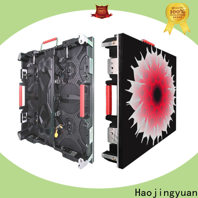 Haojingyuan wall led video screen manufacturers for building