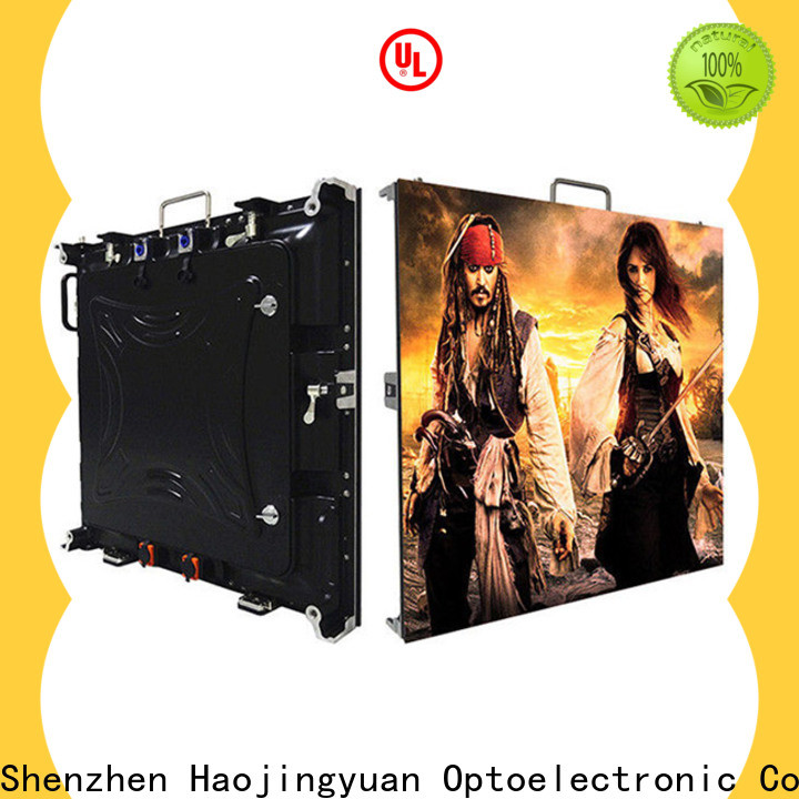 Haojingyuan New video wall led display factory for sea port