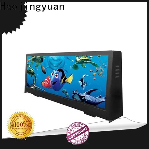 Wholesale taxi top led display taxi company for shopping mall