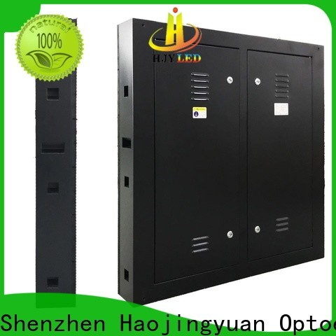 Haojingyuan mobile fixed led panel Suppliers for school