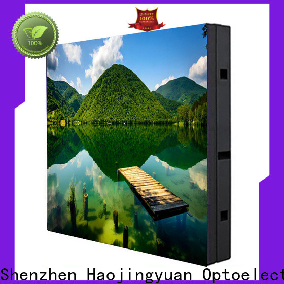 Haojingyuan Wholesale indoor led display company for hotels