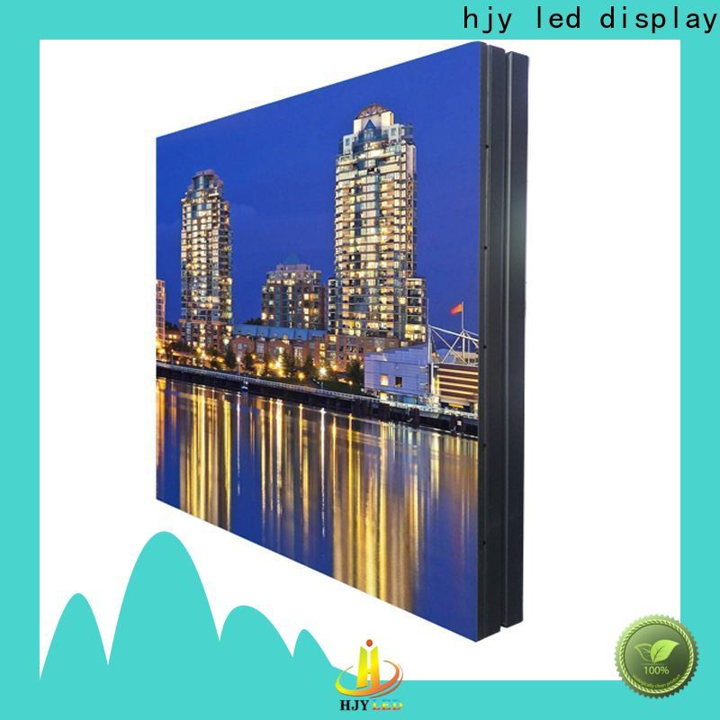 Haojingyuan full led road display Supply for lobby
