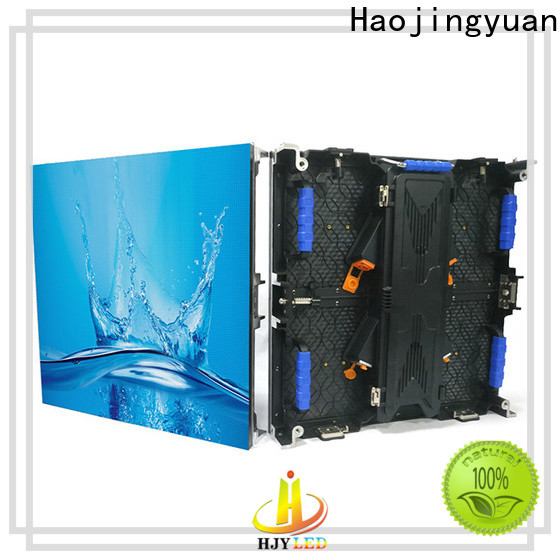 Haojingyuan High-quality flexible led display panels Suppliers for stadium