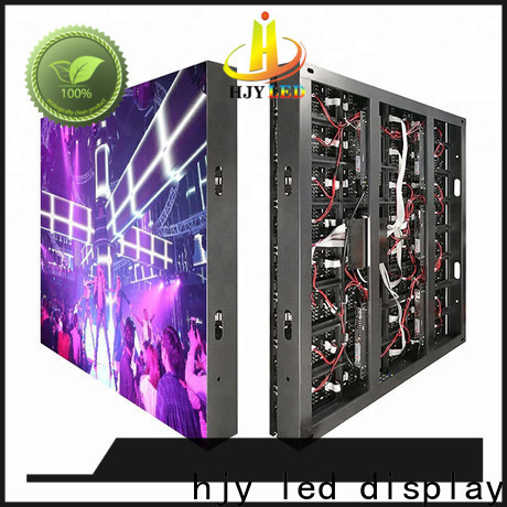 Haojingyuan color indoor led display factory for hotels