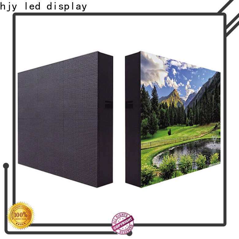 Haojingyuan 160160mm led display sign led fixed company for lobby