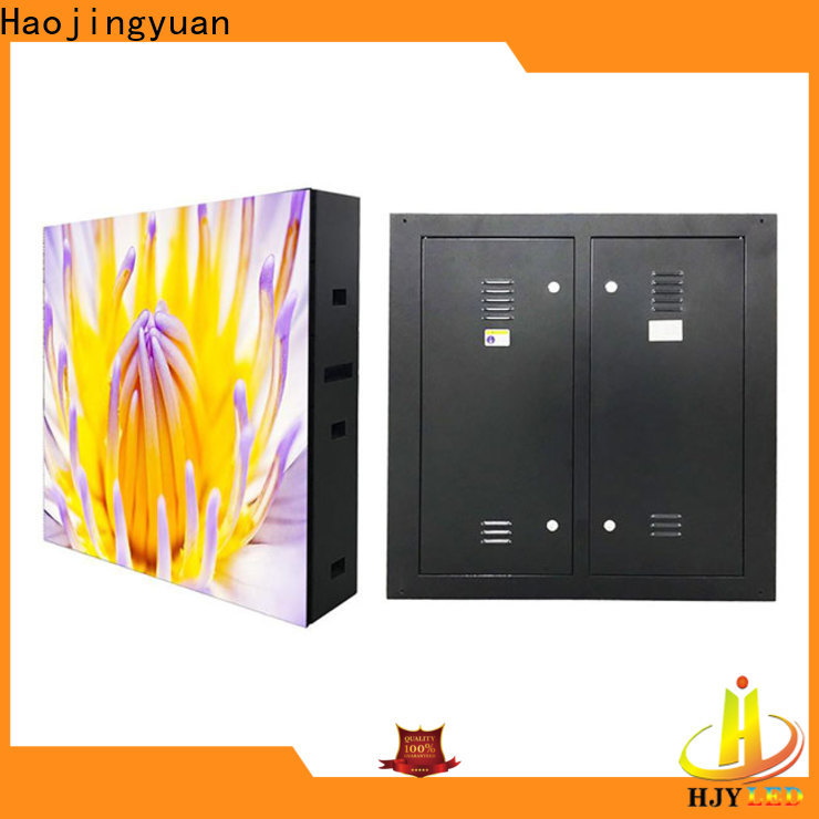 Haojingyuan strong outdoor led display Suppliers for lobby
