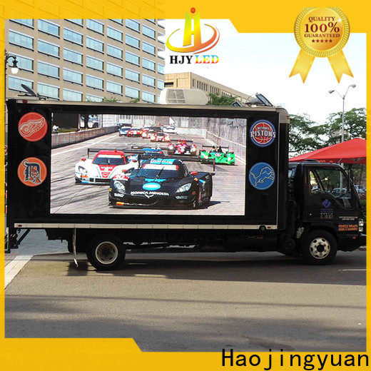 Haojingyuan Latest mobile led display manufacturers for birthday party