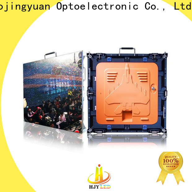 Haojingyuan stage display panel led Supply for taxi