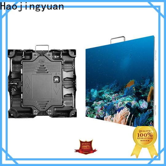 Haojingyuan Top flex led video wall factory for taxi