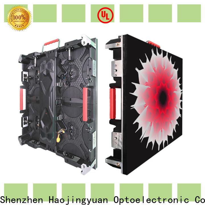Haojingyuan elegant large digital screens company for taxi