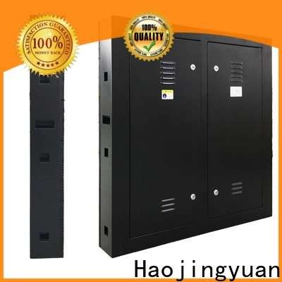 Haojingyuan Latest fixed led display Suppliers for lobby