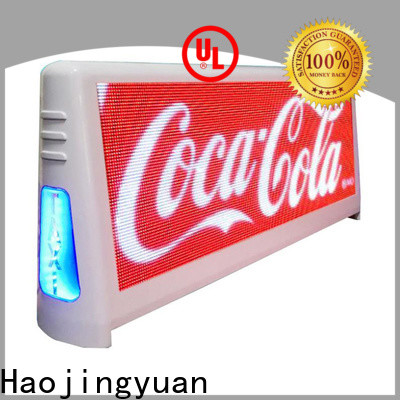 Wholesale taxi top led display outdoor for business for shopping mall