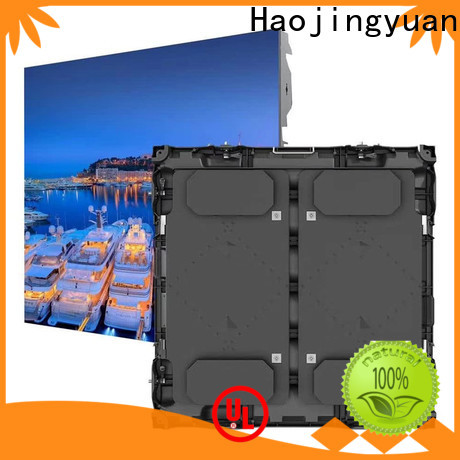 Haojingyuan led large stadium led display screen manufacturers for salon