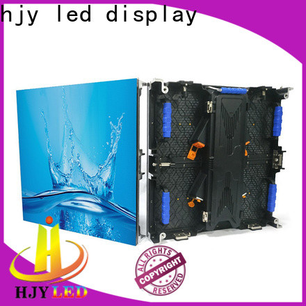 Custom led video wall panel rental Supply for shopping mall