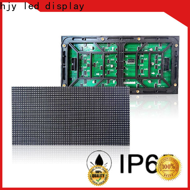 Haojingyuan 256x128 smd led module for business for cafeteria