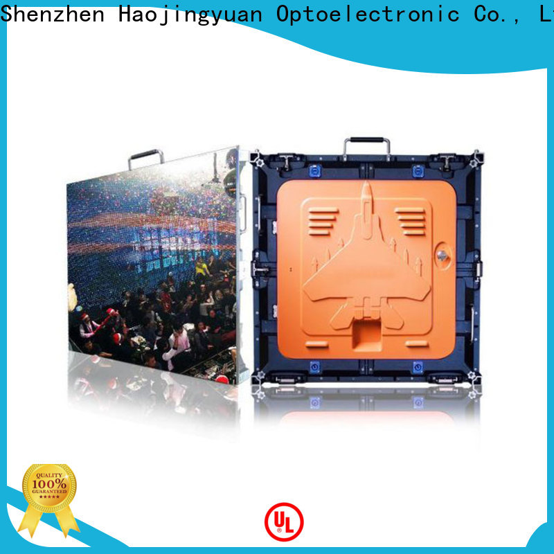New flexible led display panels concert factory for building