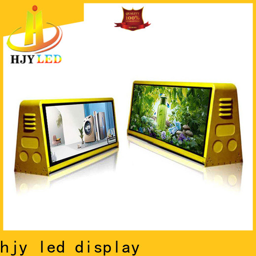 Haojingyuan advertising mobile led display manufacturers for birthday party