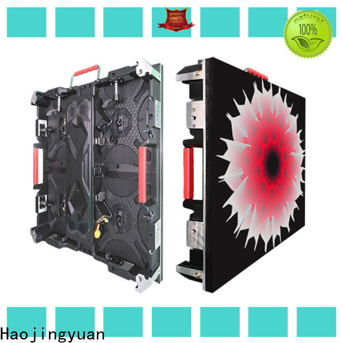 Haojingyuan elegant flexible led screen display Supply for building