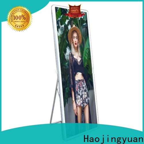 Haojingyuan display poster led display for business for street