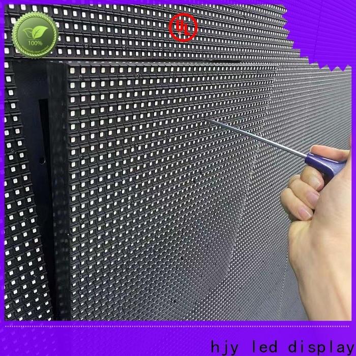 Haojingyuan resolution waterproof led display board manufacturers for school
