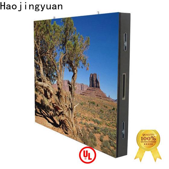 Haojingyuan Custom outdoor led display company for hotels