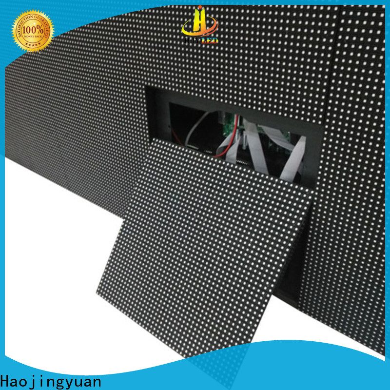 New indoor led display mobile company for lobby