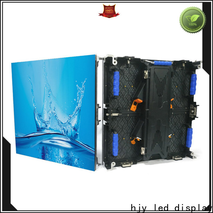 Haojingyuan wall panel led display factory for shopping mall