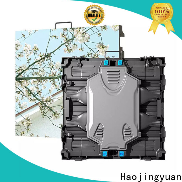 Haojingyuan hd indoor led panel Suppliers for sea port