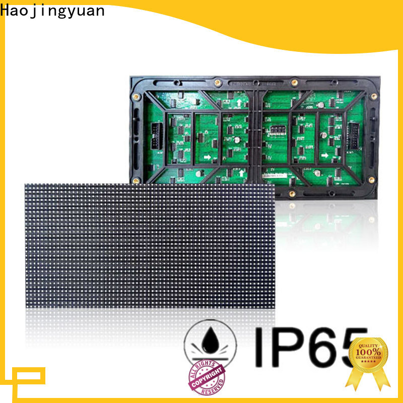 Haojingyuan display led display module factory for cafeteria