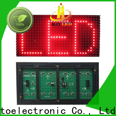 Haojingyuan green smd led module manufacturers for cafeteria