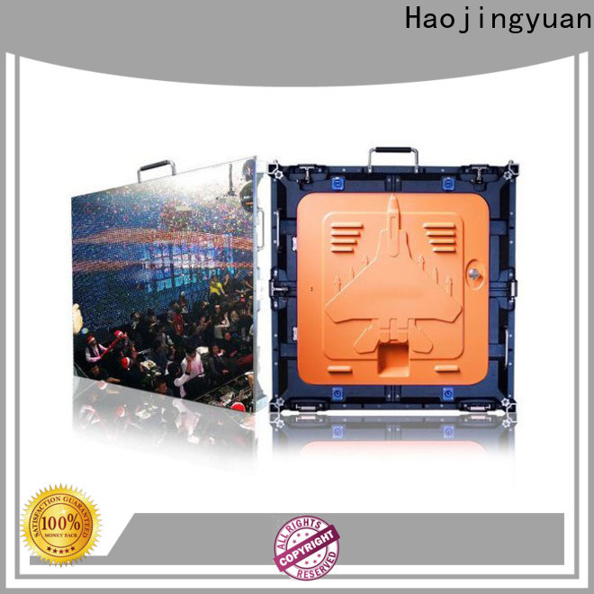 Haojingyuan High-quality led digital display screens manufacturers for building