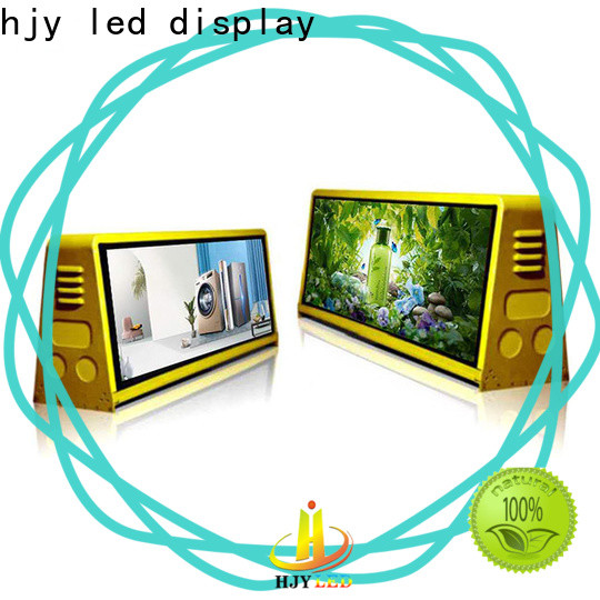 Haojingyuan Latest truck mobile led display for business for birthday party